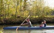 Paddeln auf den Fließen im Spreewald